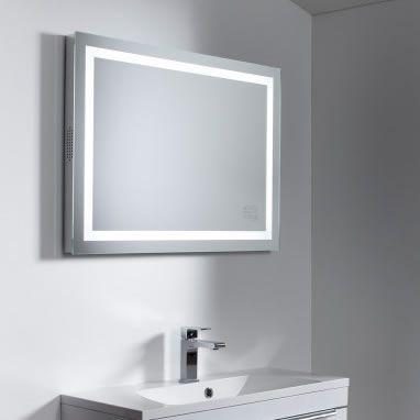 Roper Rhodes Encore Mirror With Wireless Bluetooth Bathroom
