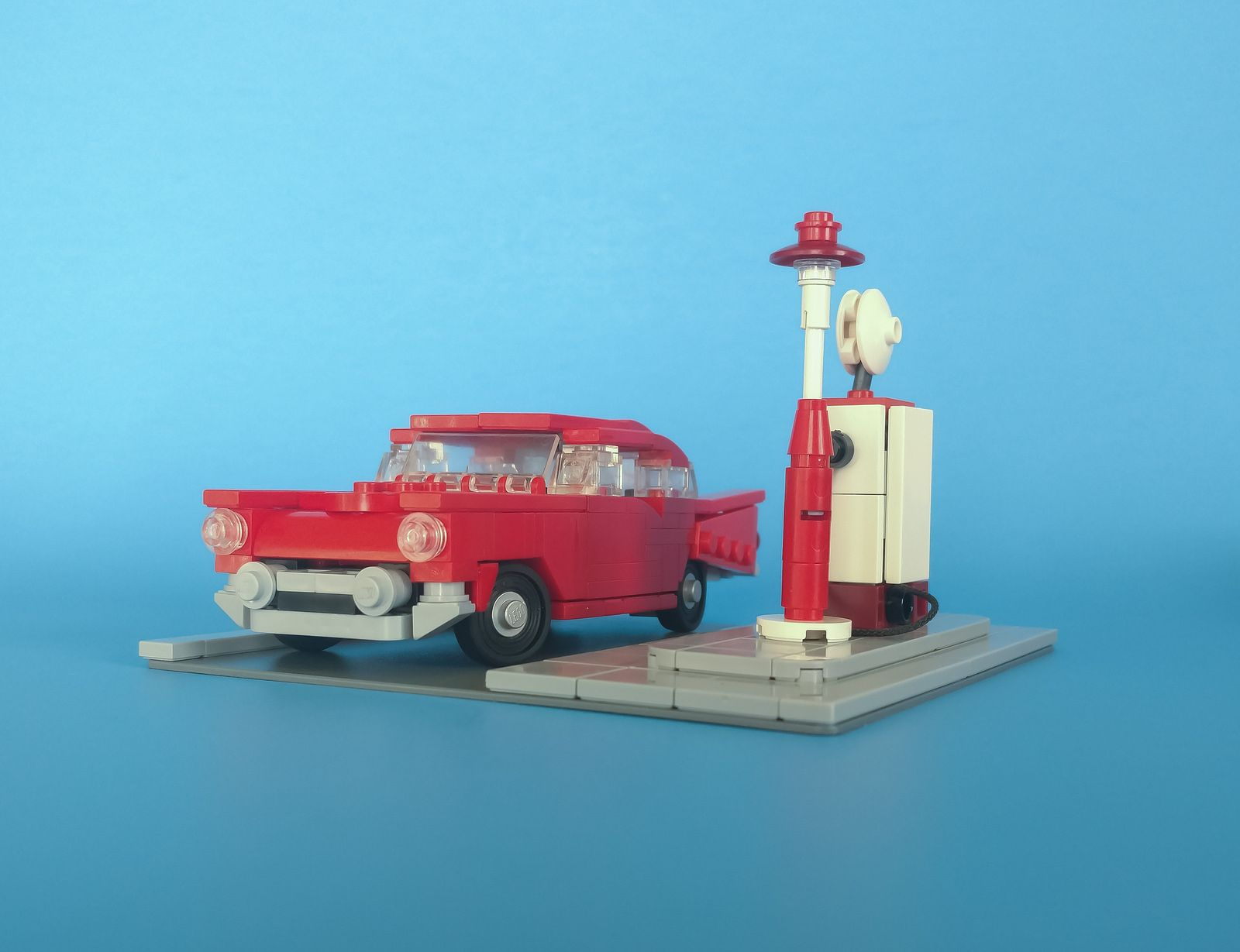57 Chevrolet Bel Air Lego Pictures Lego Cars First Car