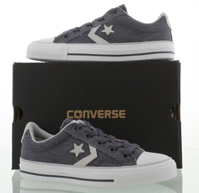 Converse Shoes, Allstars Unisex Star Player Ev Ox Graphite Oyster - £44.99