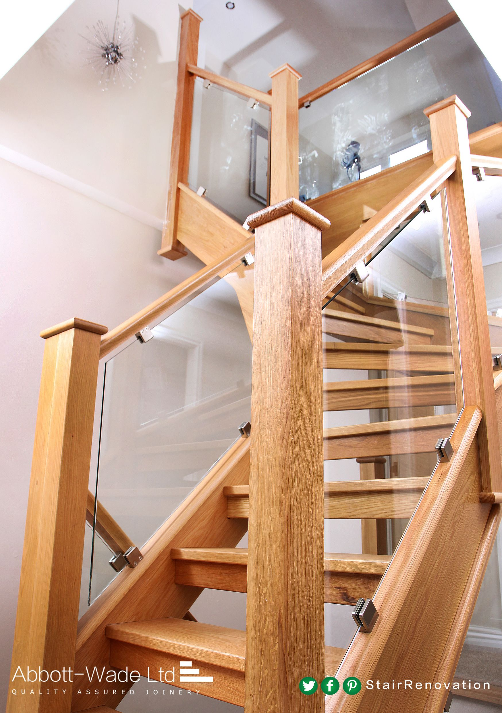 Very modern and very stylish. Glass staircase, Staircase