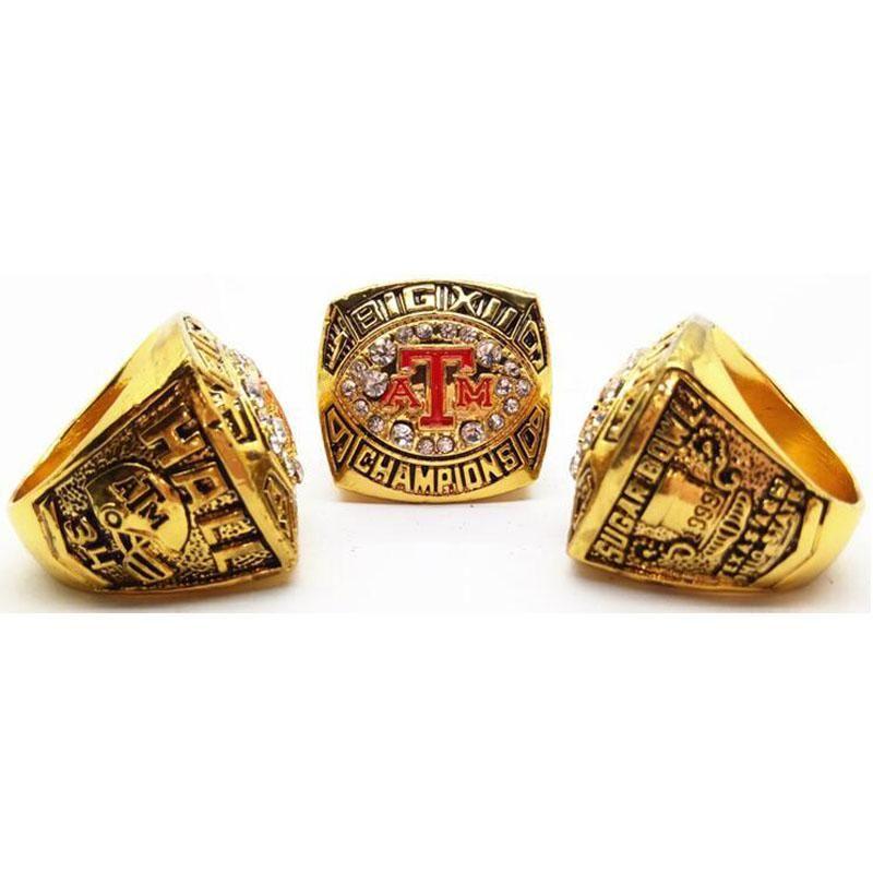 1998 texas a m university national championship ring