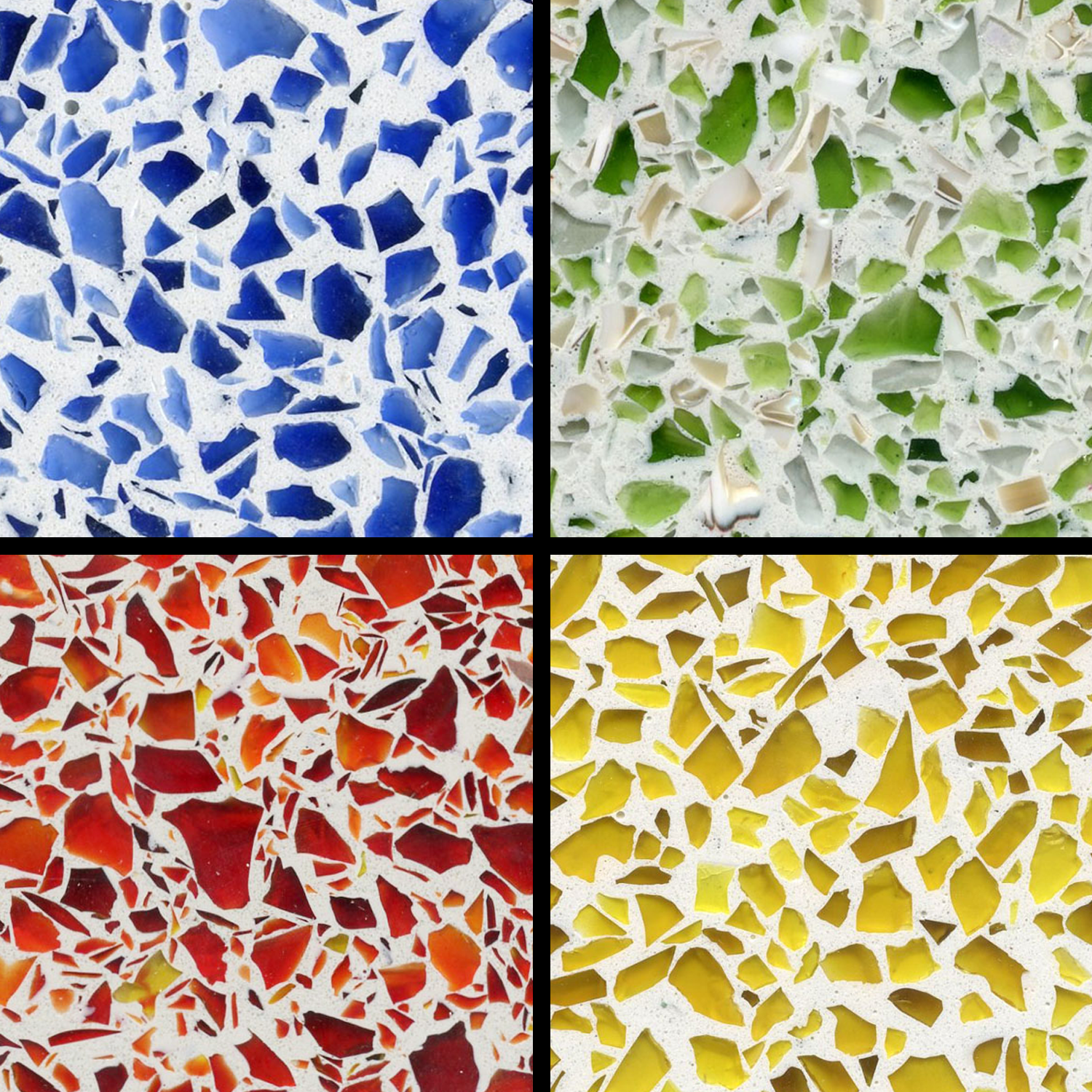 Recycled Glass Provides Vibrant Color Options For Terrazzo