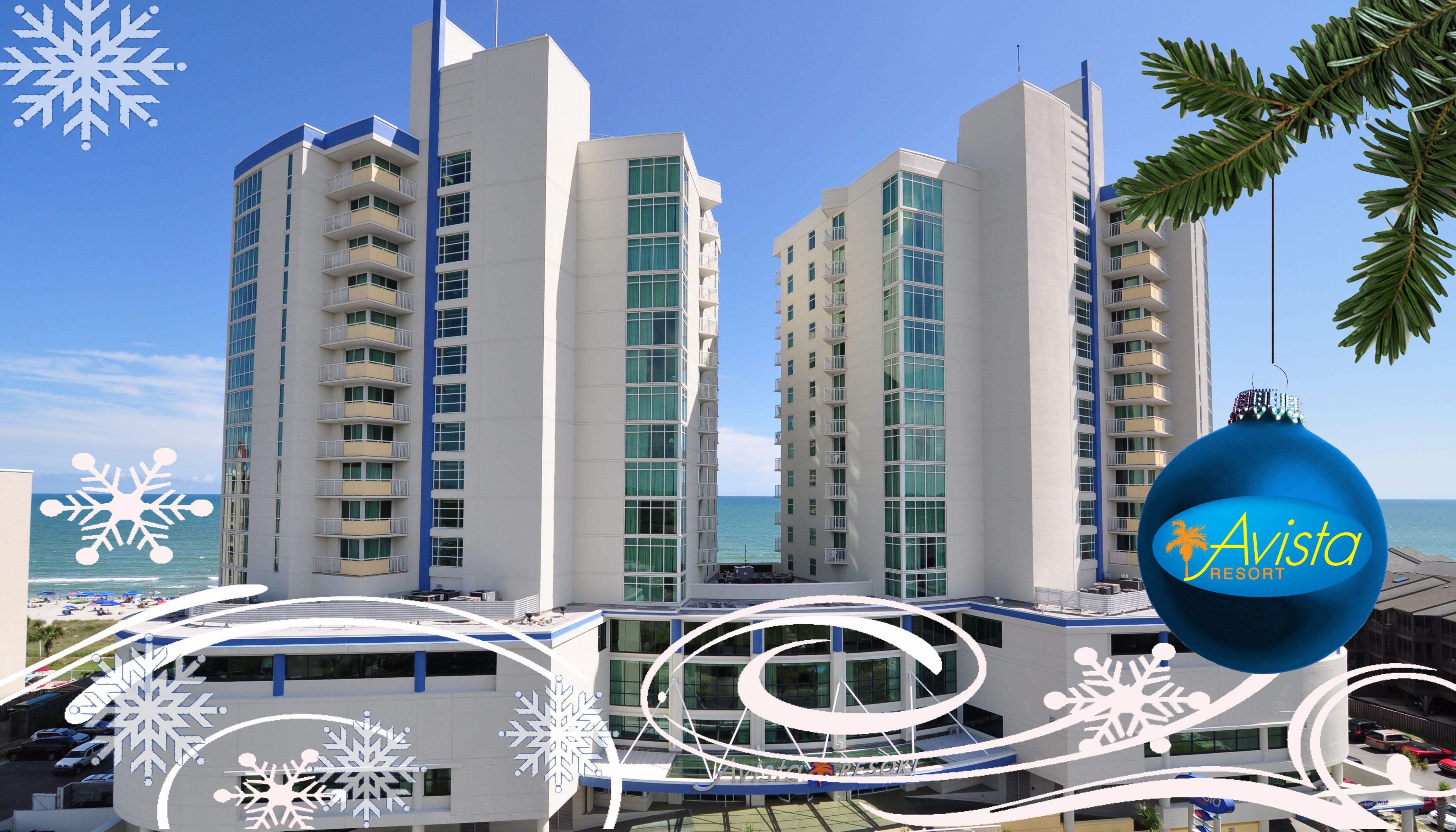 Visit Avista Resort to enjoy Myrtle Beach oceanfront views