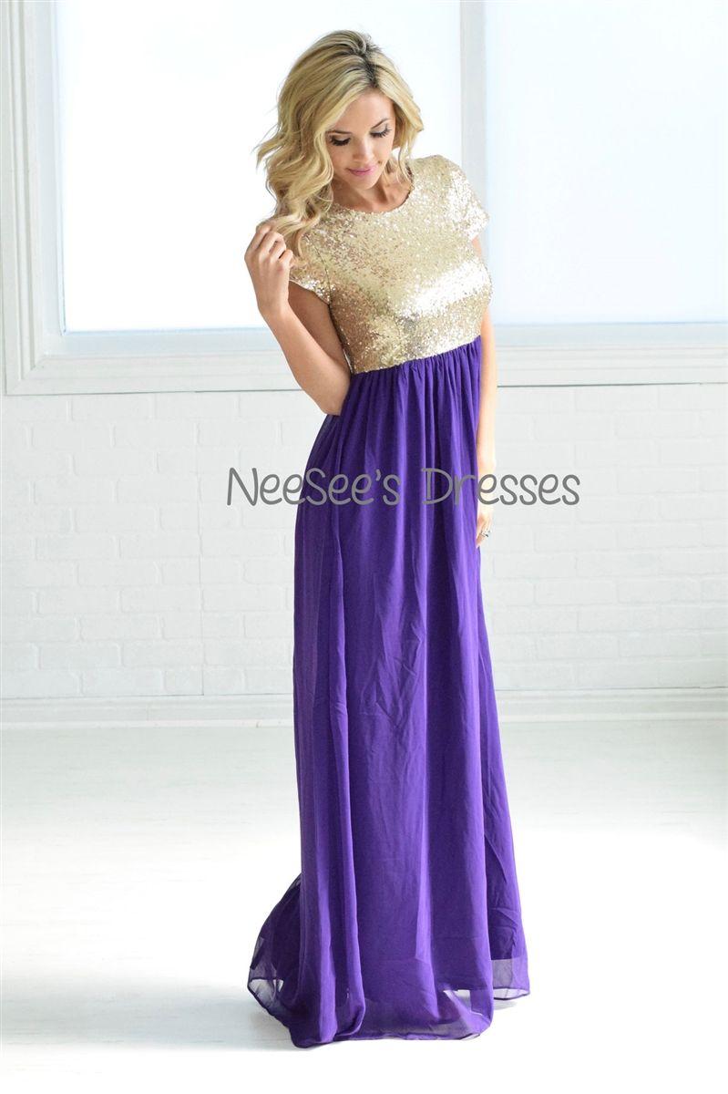 d5b15eb806 Purple Modest Bridesmaid Dresses - Data Dynamic AG