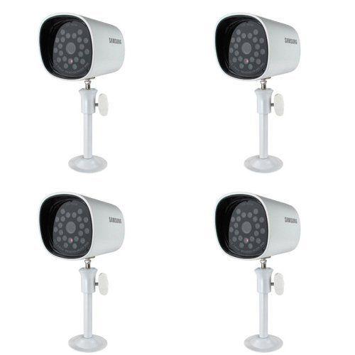 Samsung SEB-1005R 4 Set Weatherproof Night Vision Camera with 60ft