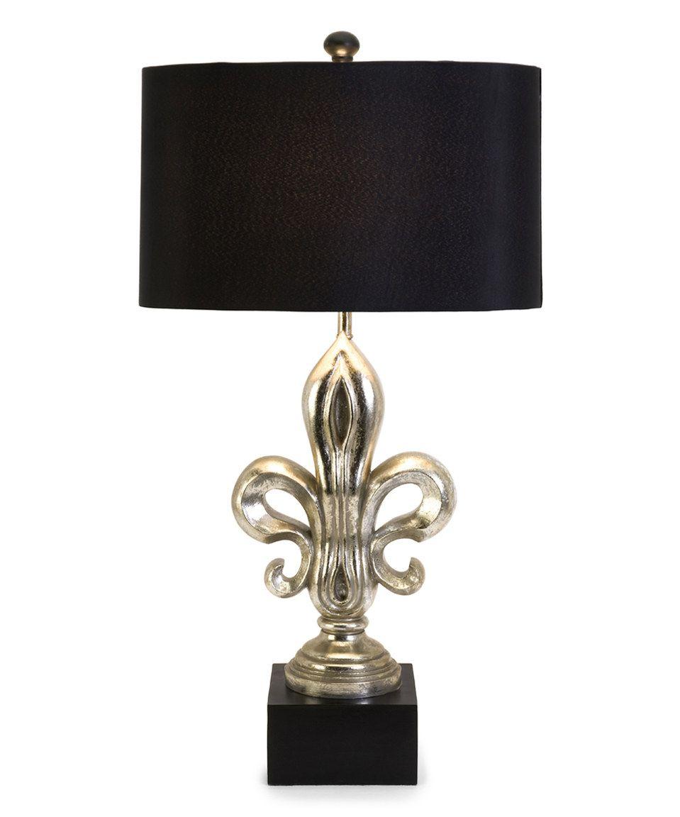 Silver Fleur De Lis Table Lamp Lamp Table Lamp Lamp Sets