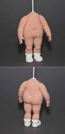 Утяжка вязаных игрушек - Мордочка-глаза-волосы - Форум почитателей амигуруми (вязаной игрушки) #crochettoysanddolls