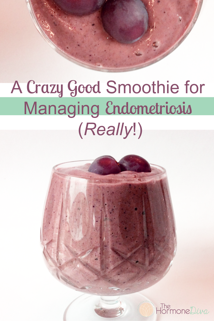 Endometriosis smoothie recipe endometriosis smoothies and diva a crazy good smoothie for managing endometriosis really the hormone diva forumfinder Image collections