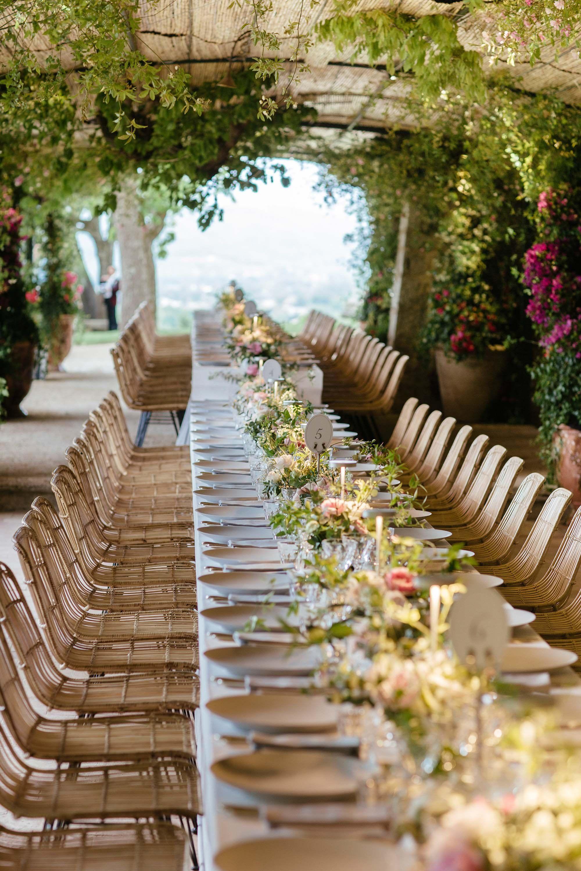 La Colle Noire Dior dior's dinner at château de la colle noire | wedding