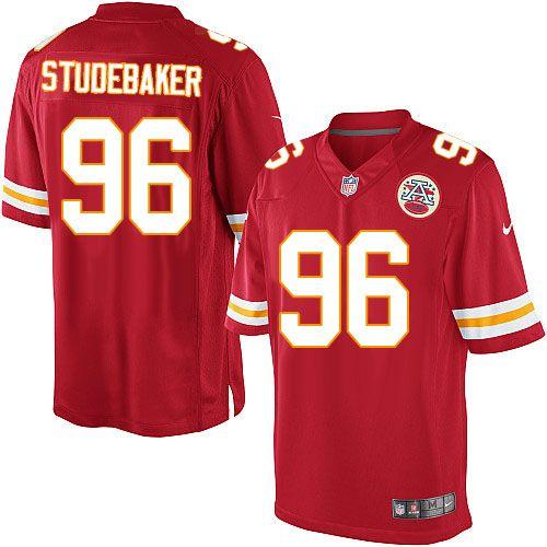 cfe36ed7779 NFL Kansas City Chiefs #96 Andy Studebaker Limited Red Men Jersey ...
