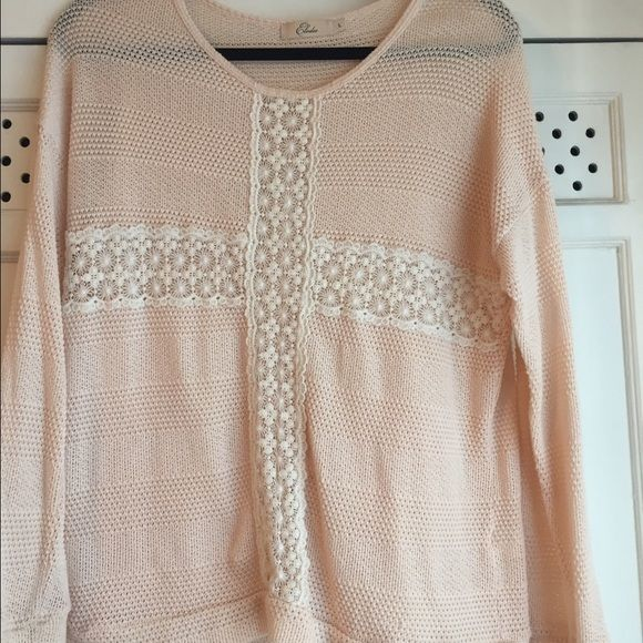 Light pink sweater from Nordstrom Light pink and light weight sweater from Nordstrom. All prices are negotiable please send me an offer :) I also bundle. Nordstrom Sweaters