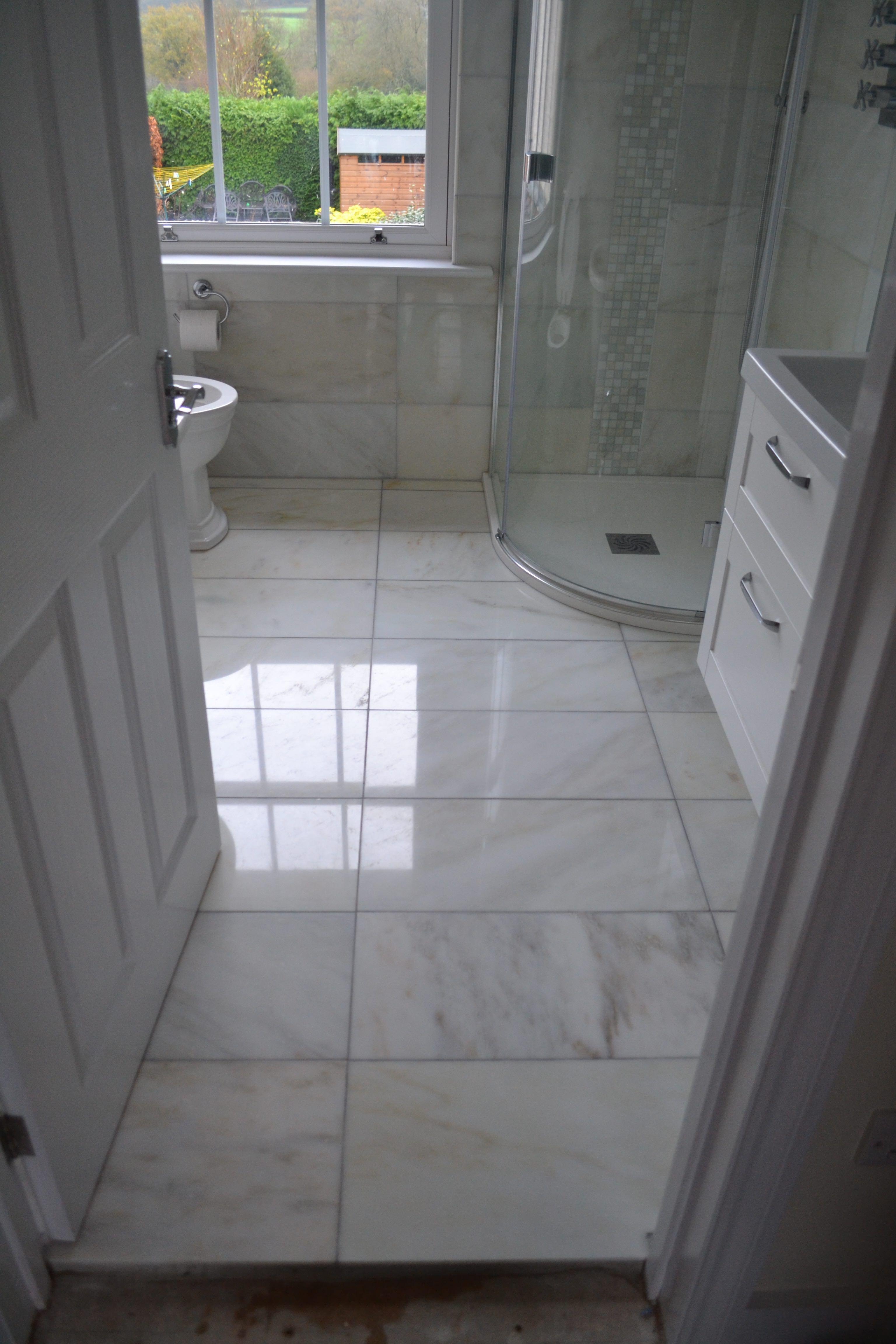 Bathroom Marble Floor Cleaning Polishing Sealing Esher Surrey