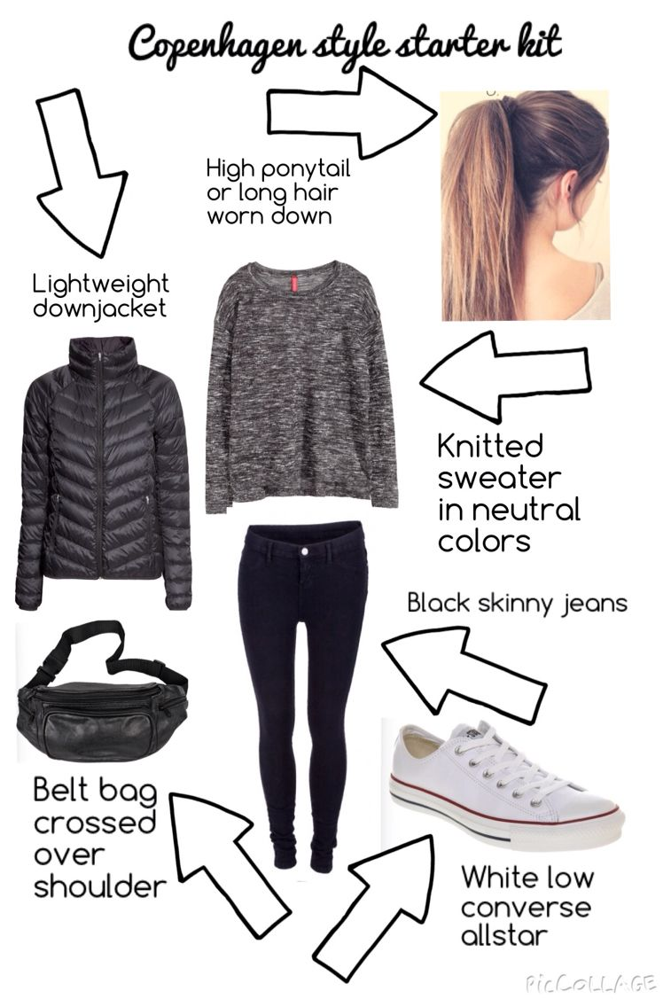 Danish teenage girl outfit