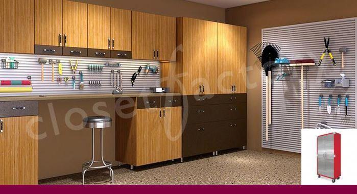 diy garage storage organization ideas and garage cabinets perth rh pinterest com