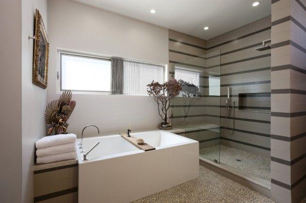 65 Banheiros Modernos Surpreendentes - Arquidicas