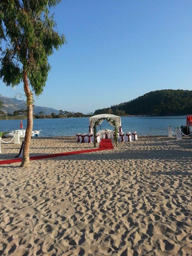 Blue Lagoon Wedding Oludeniz Turkey Venues Reception