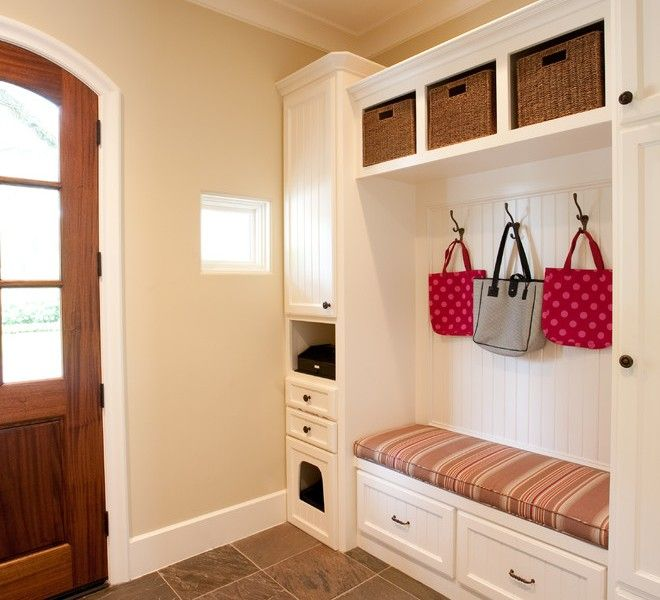 Decorative Ideas For Entryway Organization: Entryway Tile And Wood - Google Search