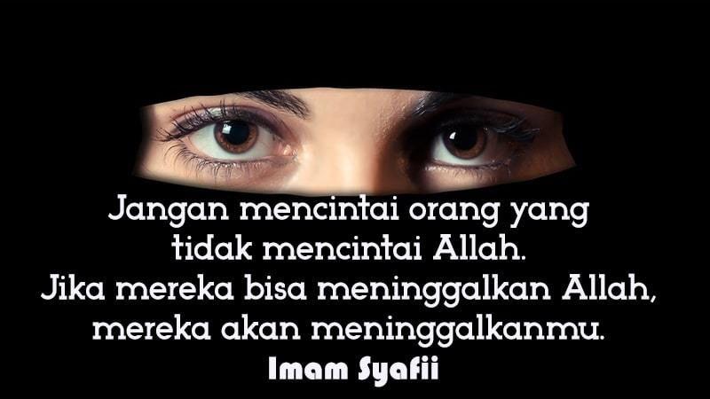 Kata Bijak Islami Galau Islam Cinta Allah Dan Cinta