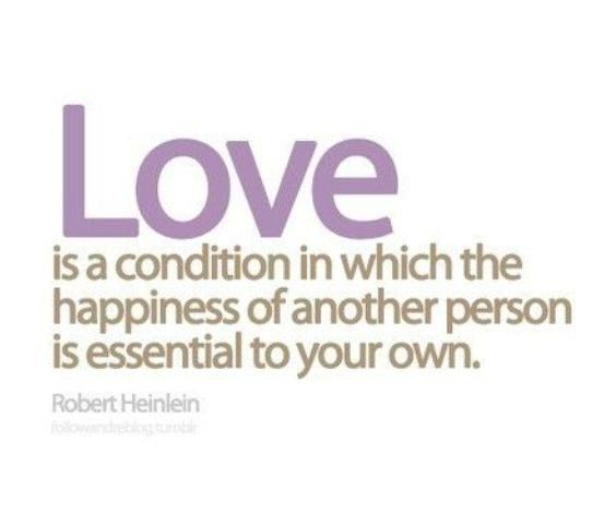 #Truth..  Love is true when it comes from the heart, not from the mouth.