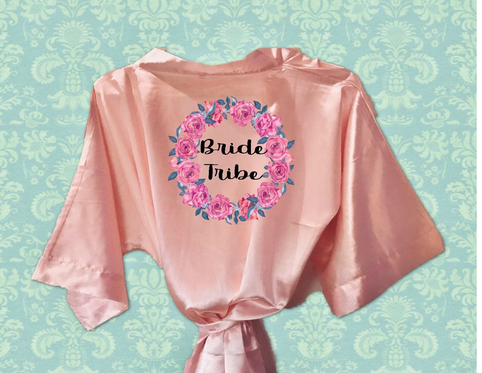 Bridesmaids Robe with name 29df16d59