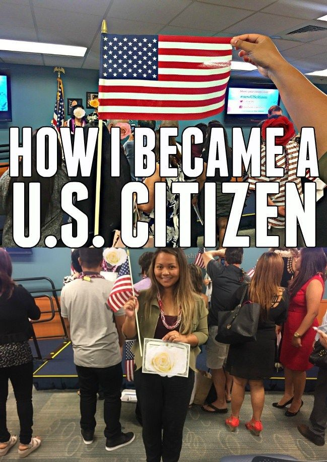 HOW TO BECOME A U.S. CITIZEN (With images) | Citizen, How ...