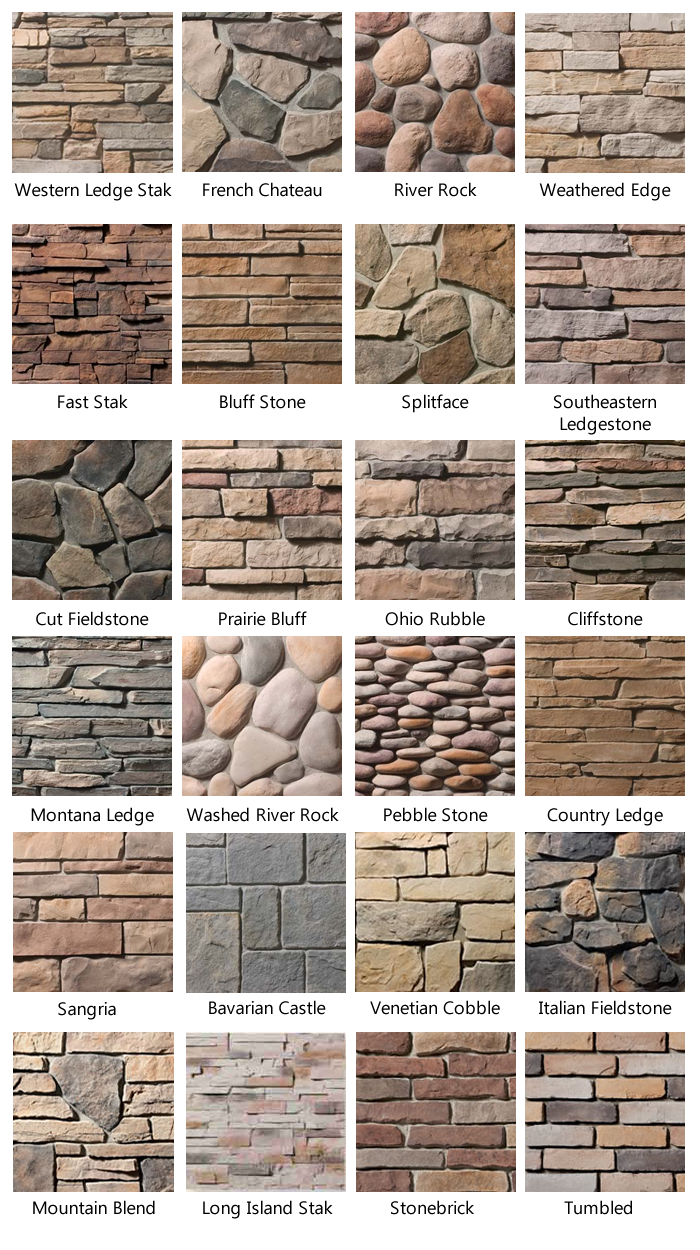 Stone brick home sweet home home house design home - Different exterior wall finishes ...