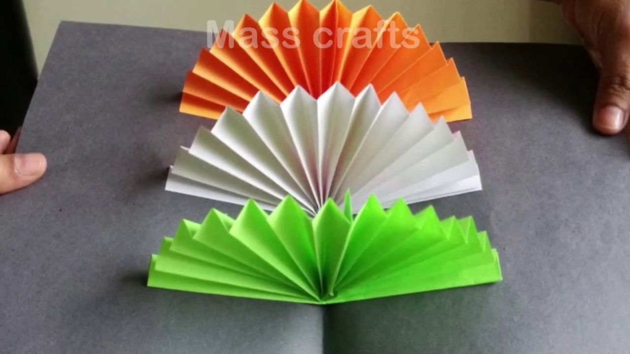 3d Pop Up Card 1 Presenting Independence Day Of India Independence Day Card India Crafts Craft Stick Crafts