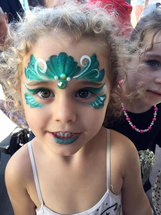 More Than 40 Of The Best Designs For Tattoos And Face Painting Page 14 Of 43 More Th Face Painting Designs Face Painting Halloween Mermaid Face Paint