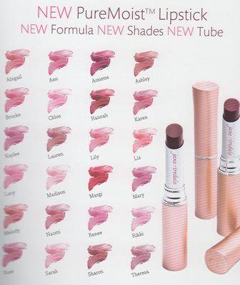 PureMoist Lipstick by Jane Iredale. 100% vegan, gluten ...