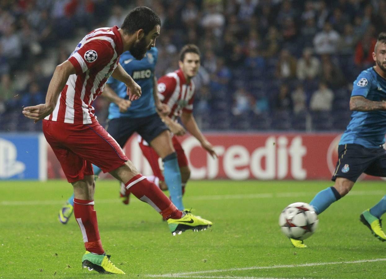 Foto Grada 360 - Zapatazo de Arda Turan - Atlético de Madrid