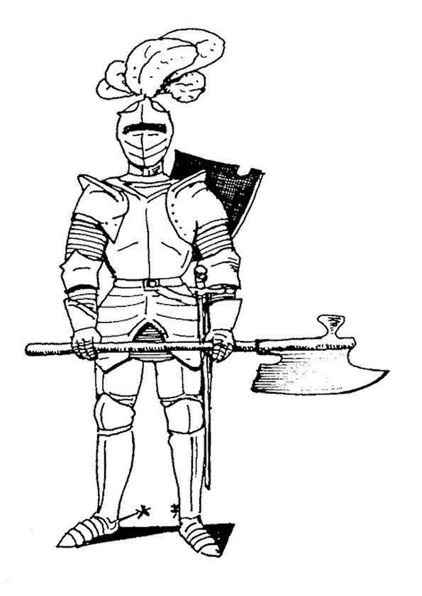 Lisa Ann en een ridder