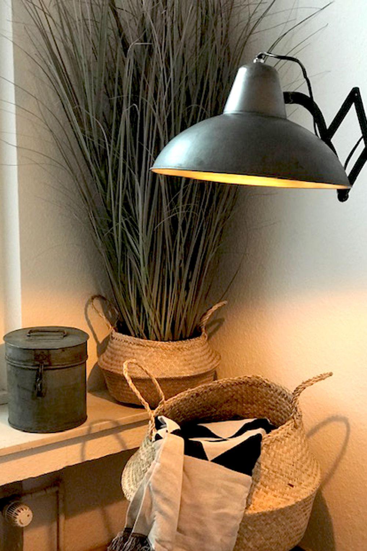 Allzweckwaffe Korb Lampe Kleiner Bungalow Aufbewahrung