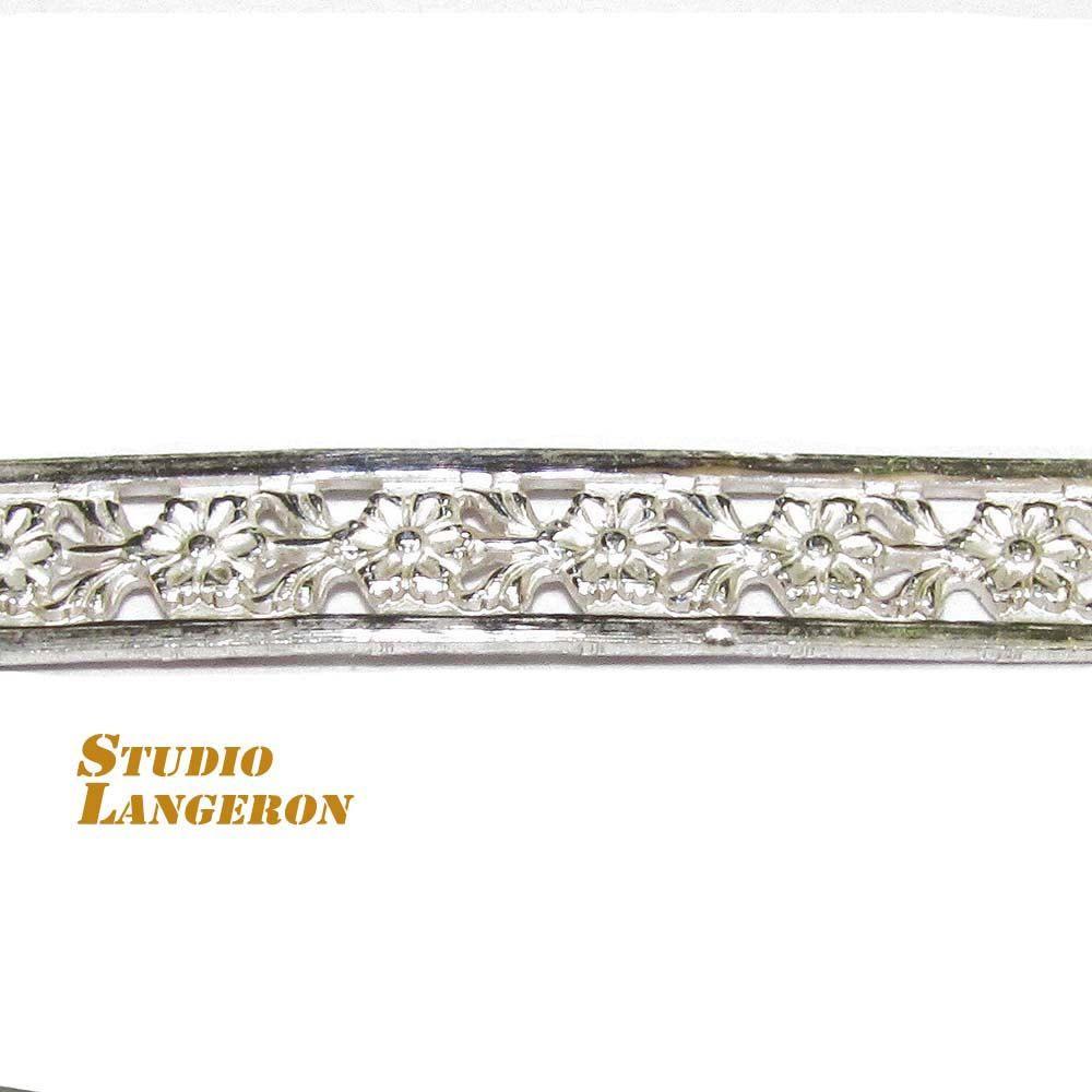 935 Sterling Silver Bezel wire, Gallery wire, Gallery ribbon - 4 inch by  StudioLangeron on Etsy ba453265381