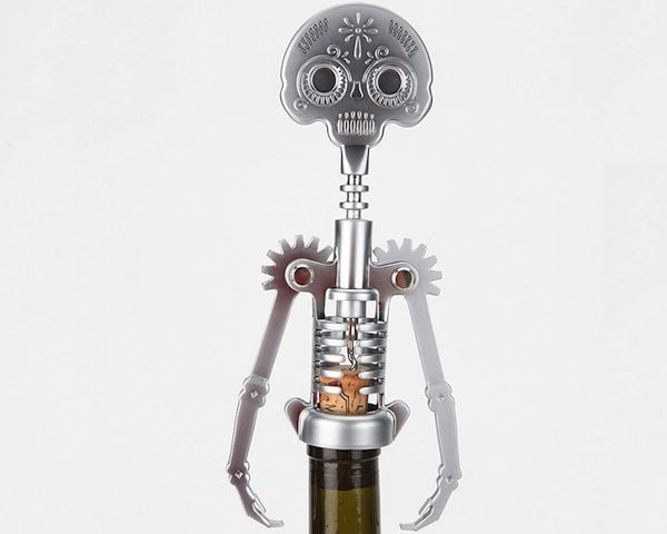 Day Of The Dead Corkscrew / This corkscrew is inspired by the Day of the Dead holiday in Mexico. http://thegadgetflow.com/portfolio/day-of-the-dead-corkscrew/