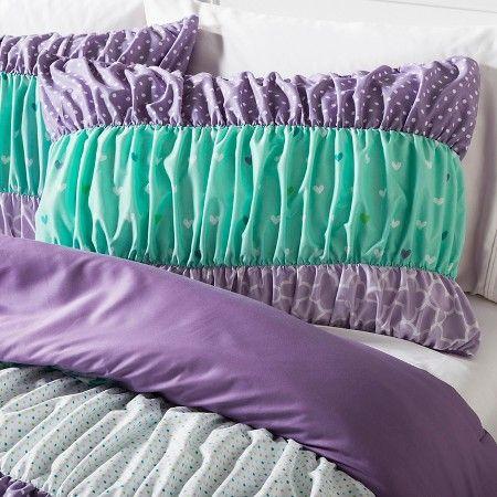 Ruched Comforter Set Pillowfort Target Serena S