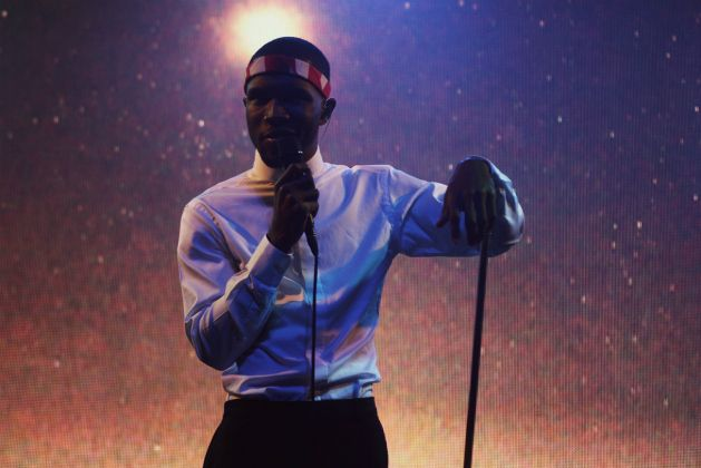 Last Night Critically Acclaimed Singer Songwriter Frank Ocean