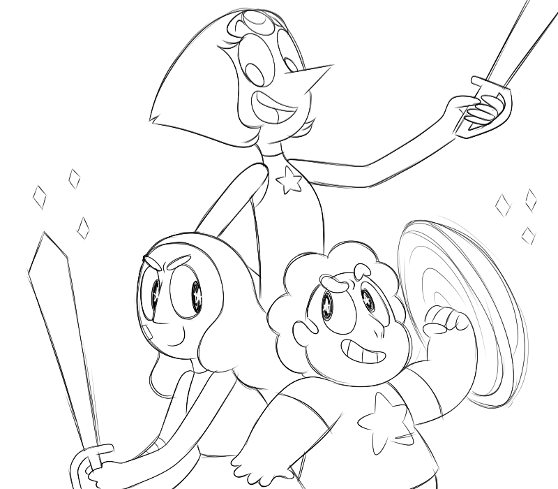 Do It For Her Him Steven Universe Steven Universe Coloring Books Colouring Pages
