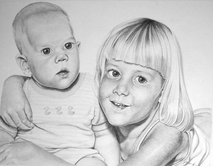 http://www.brittanybrubaker.com/art/commission/AlexisandStephan.jpg  You can commission Drawings from My Niece.