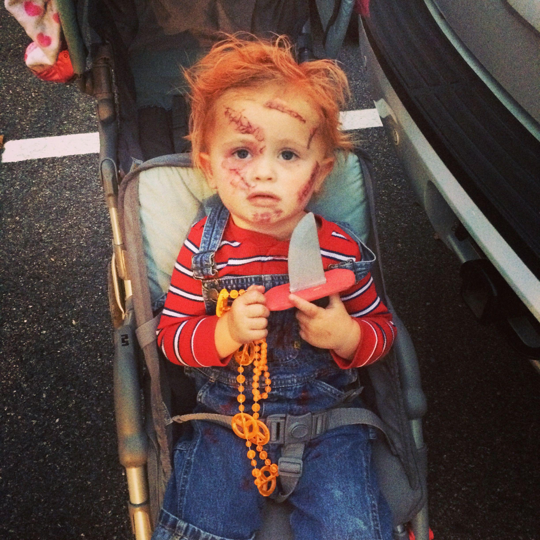 Chucky doll Halloween Costume #chuckydoll #bestkidscostumes ...