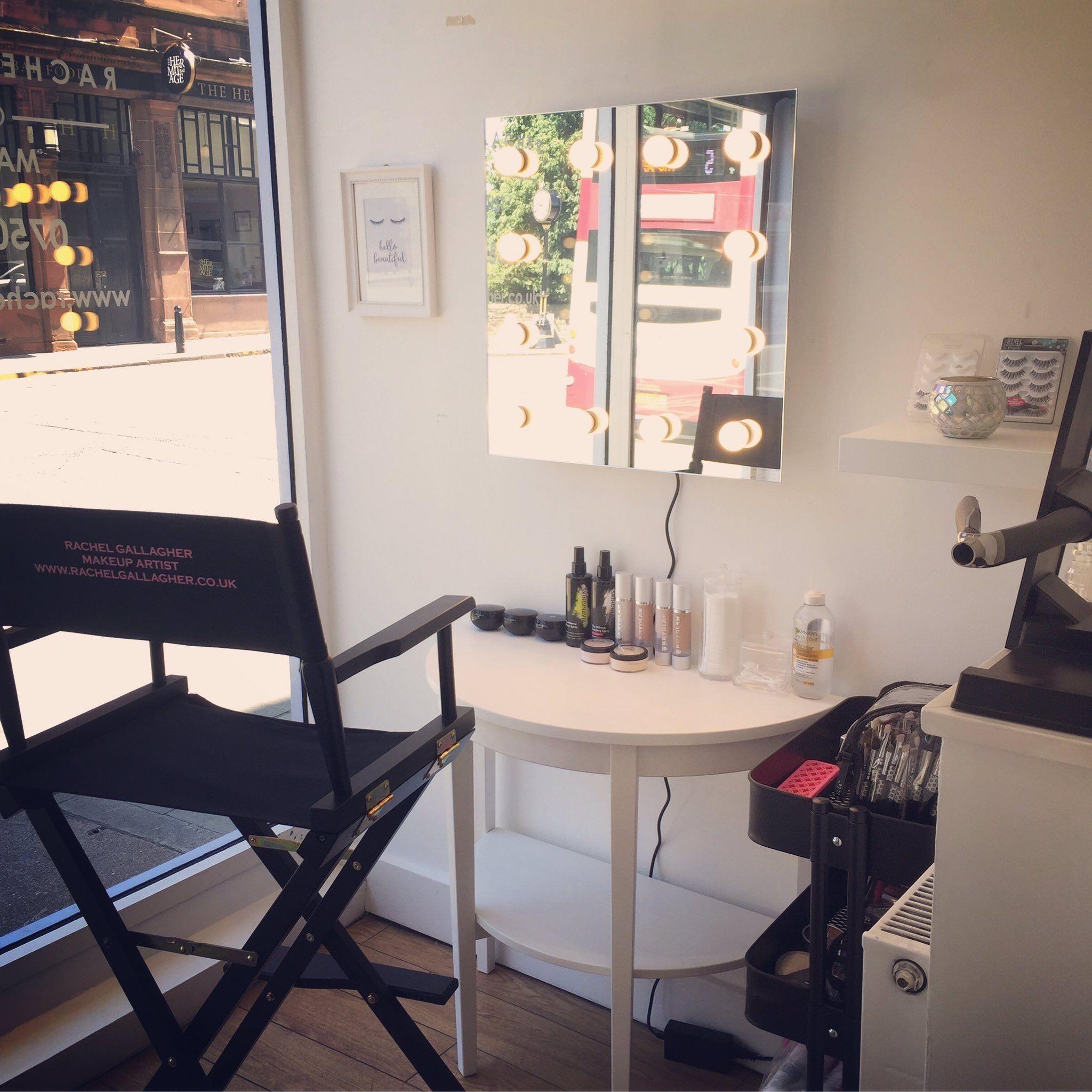 Makeup Station set up July 2017 Home salon, Makeup