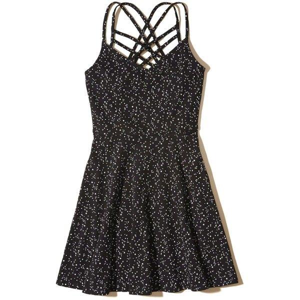 Designer Clothes, Shoes & Bags for Women   SSENSE. Black StarStar PrintKnit  DressPrinted ...