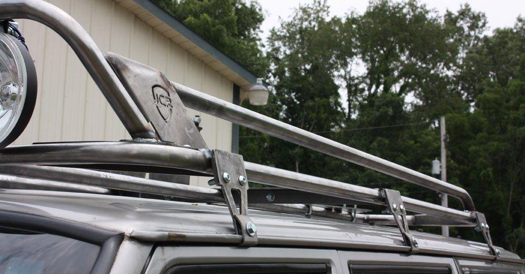 Jeep Cherokee XJ Roof Rack Mounts for do it yourself rack