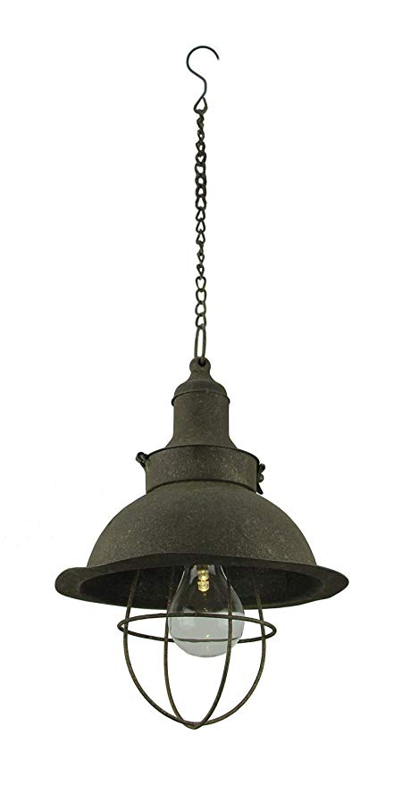 Antiqued Farmhouse Battery Operated Led Pendant Light Amazon Com Battery Operated Lights Battery Lights Hanging Light Bulbs