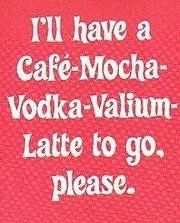 Needed one of these today.....and maybe tomorrow... Do you think Starbucks will ever make this the monthly special? lol