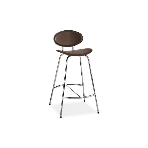 Groovy Radius Counter Stool In Leather Counter Bar Stools Gmtry Best Dining Table And Chair Ideas Images Gmtryco
