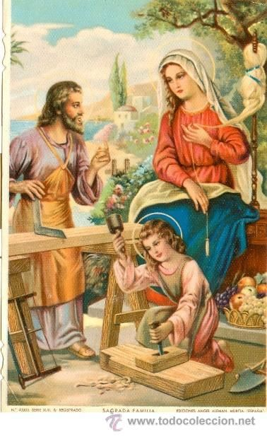 14376685.jpg (378×618) Picture Joseph, Mary and little child Jesus