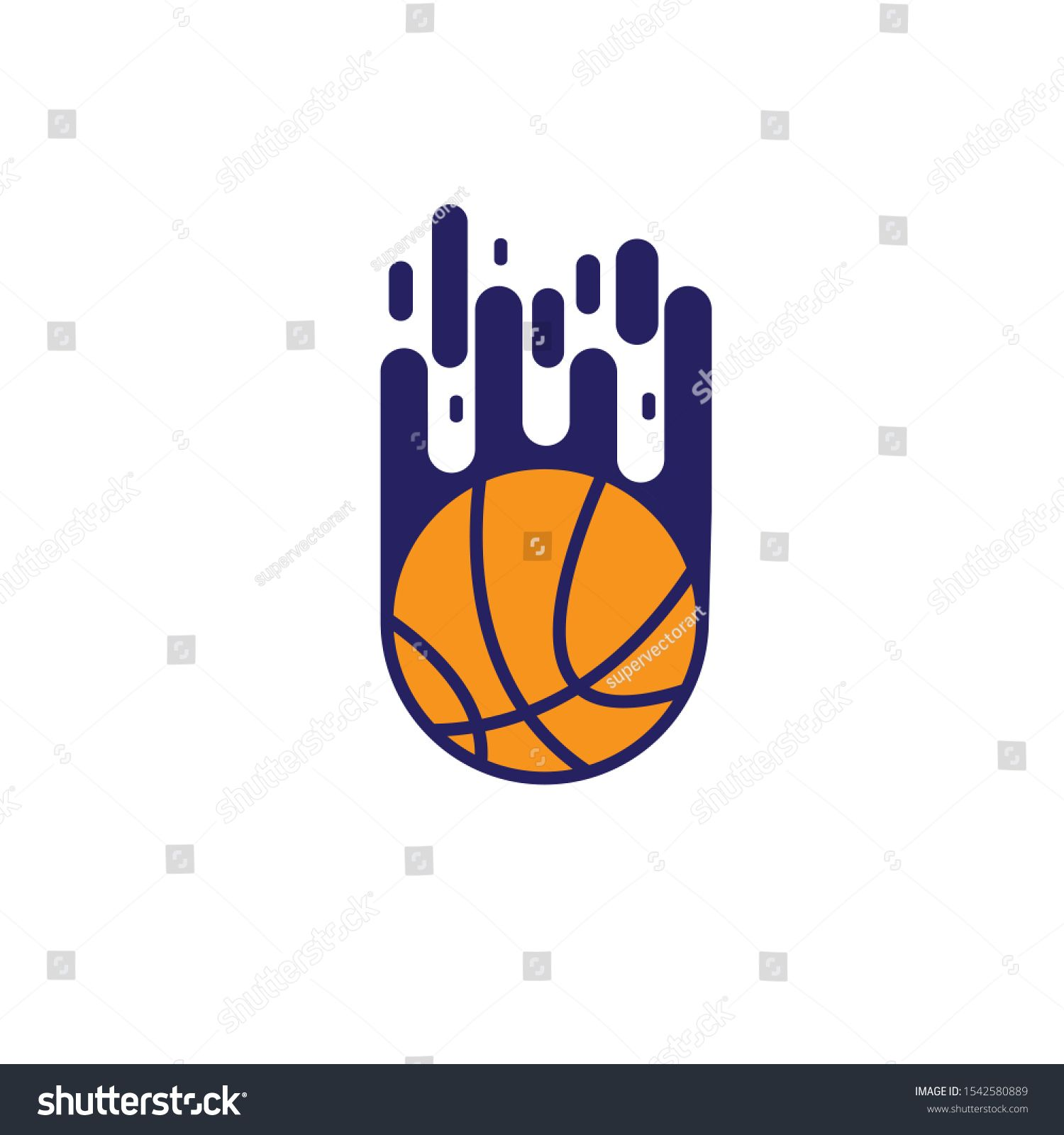A Powerful Modern Logo For The Use Of Sporting Basketball Event Club Or League Basketball Logo Vector Illustration Ad Af Modern Logo Vector Logo Vector
