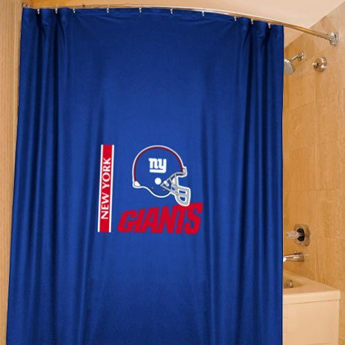 New York Giants 72 X 72 Royal Blue Shower Curtain With Images