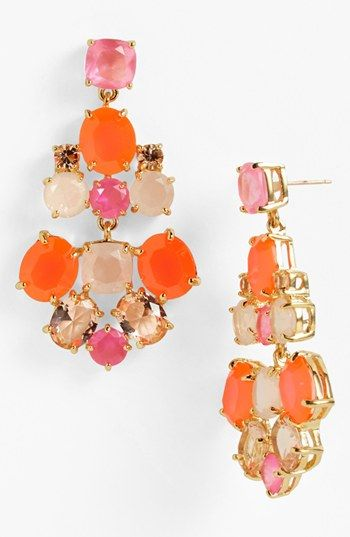kate spade new york chandelier earrings available at #Nordstrom ...