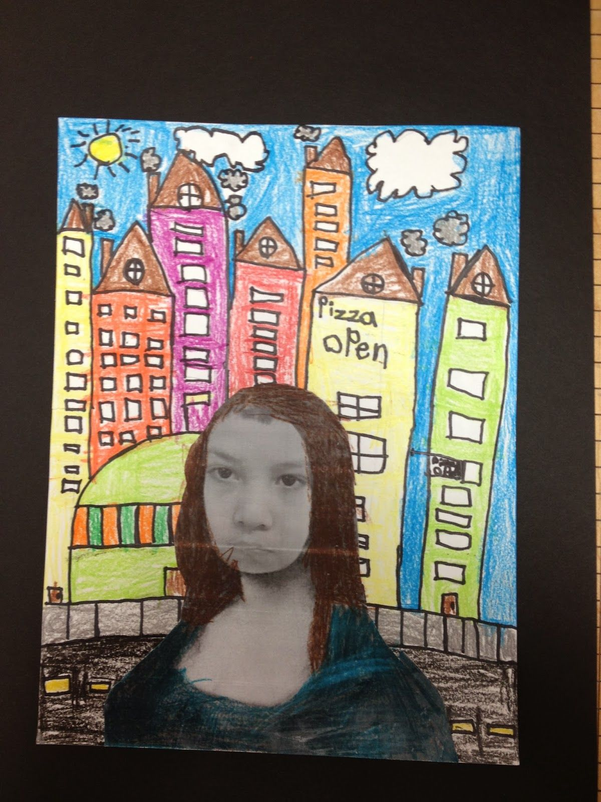 What S Happening In The Art Room 2nd Grade Mona Lisa